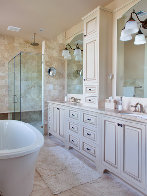 Custom Bathroom Cabinets | Home Design Plan